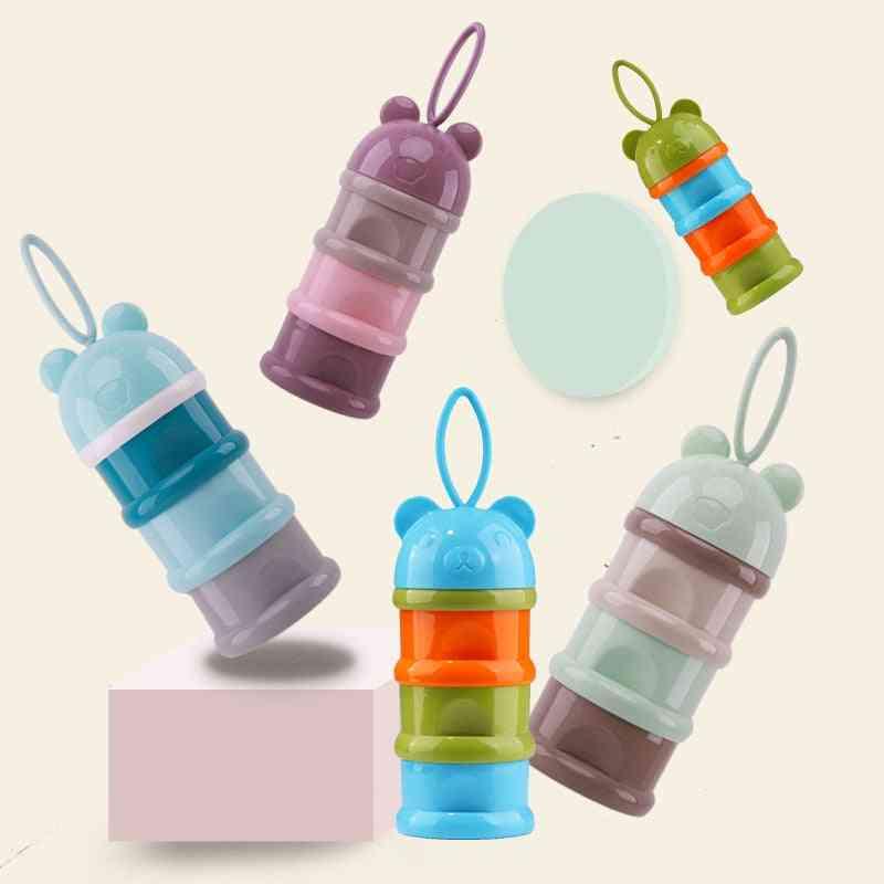 Baby Food Storage Snack Box, Milk Powder Container