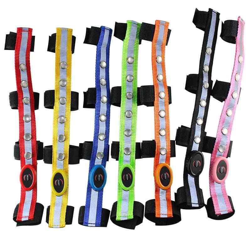 Horse Riding Head Harness, Colorful Lighting, Luminous Tubes Straps, Saddle Halters Accessories
