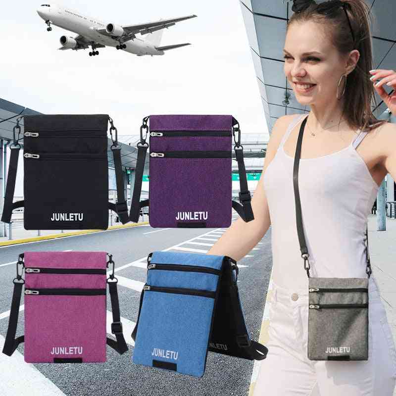 Fashion Single Shoulder, Waterproof, Mobile Phone, Hanging Neck, Small Wallet Bag's