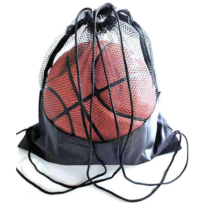 Portable Soccer Ball Storage Net Pouch
