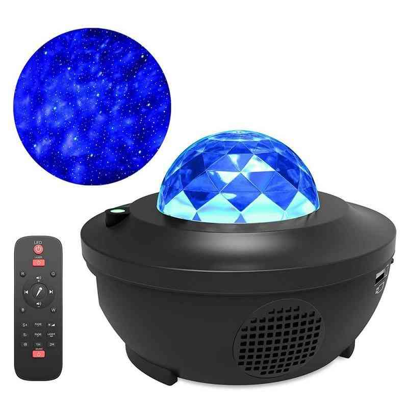 Led Rotating Night Light-starry Sky Master Projector Lamp