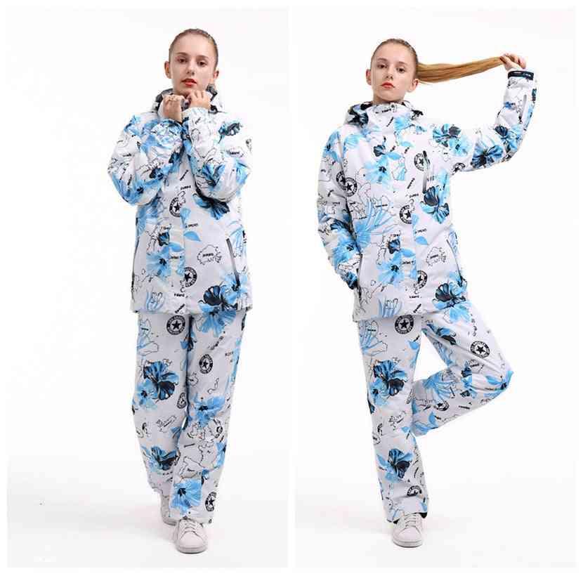 Waterproof And Windproof Women's Ski Suit