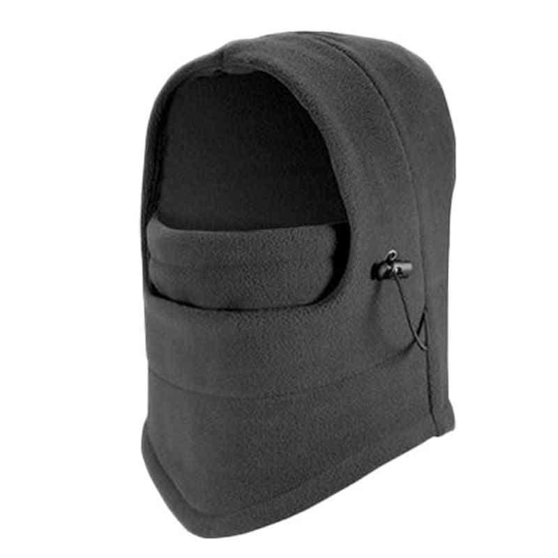 Winter Warm And Double Layer Fleece Mask