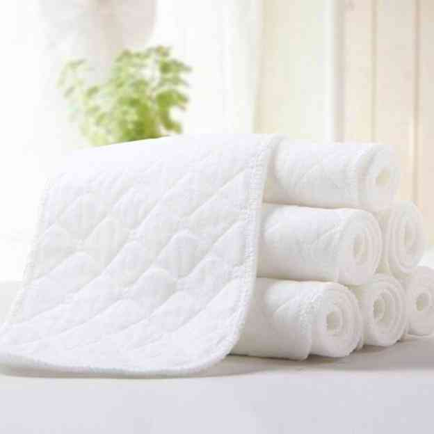 Baby Diaper-bamboo Eco Cotton And Reusable Nappy Liners
