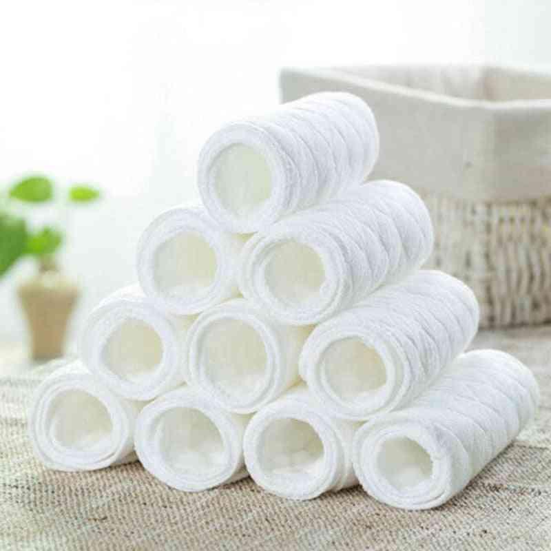 3 Layer Reusable Cotton Cloth Insert Diaper