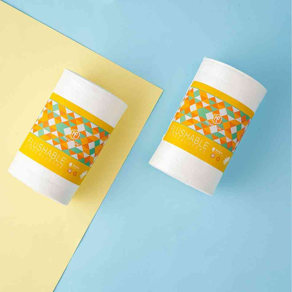Unscented Biodegradable And Flushable Nappy Liners