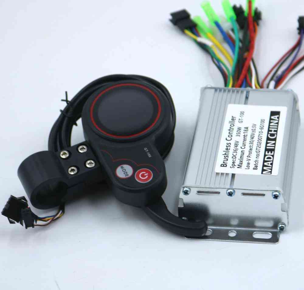 Electric Scooter Controller E-bike Brushless Speed Driver And Lcd Display