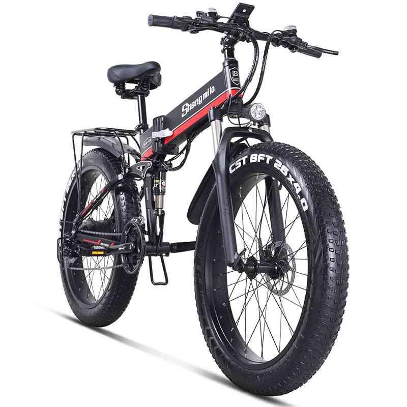 Electric Mountain Folding Bike