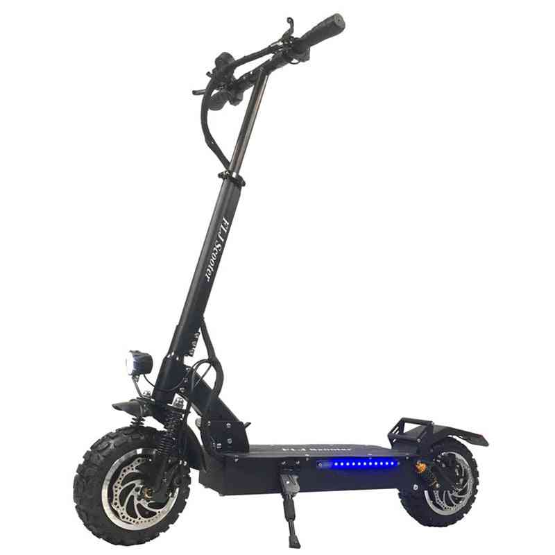 Off Road Electric Scooter, Strong Powerful Foldable Bicycle