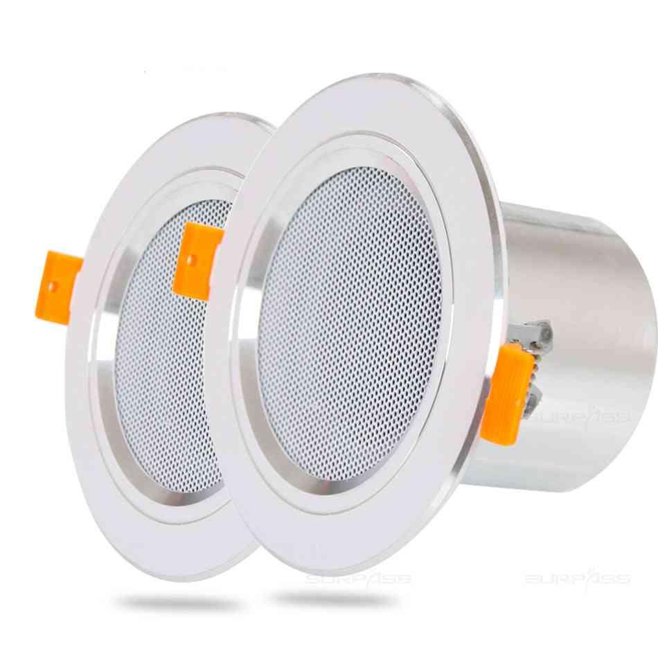 Bathroom Moisture-proof Aluminum Can Ceiling Speaker