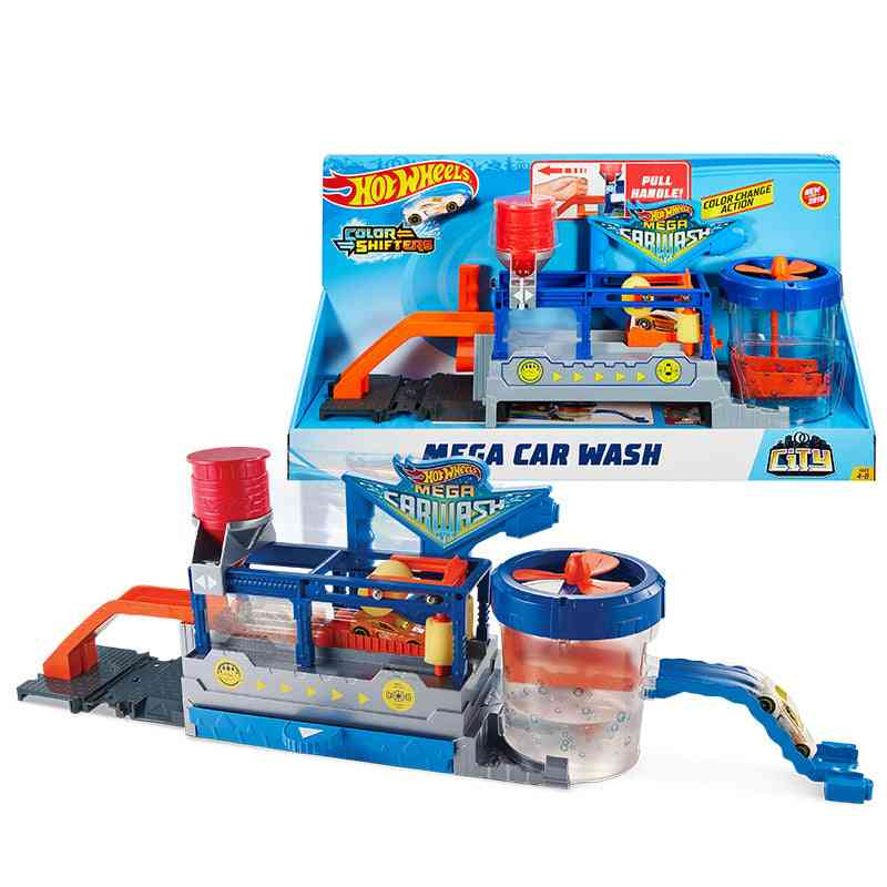 City Mega Car Wash Connectable Play Set
