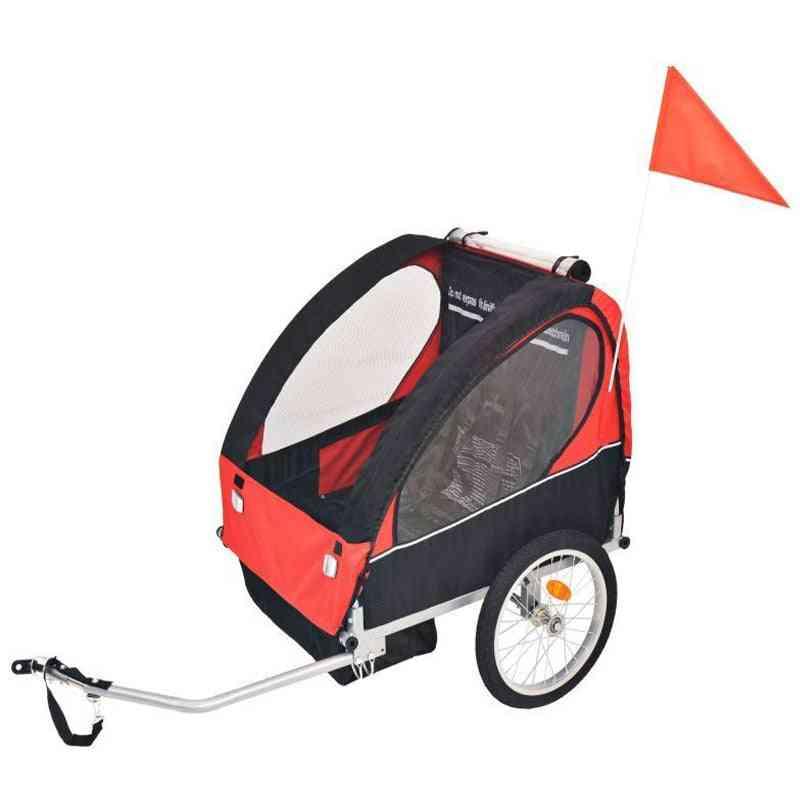 2 Wheels Baby Bike Trailer Stroller