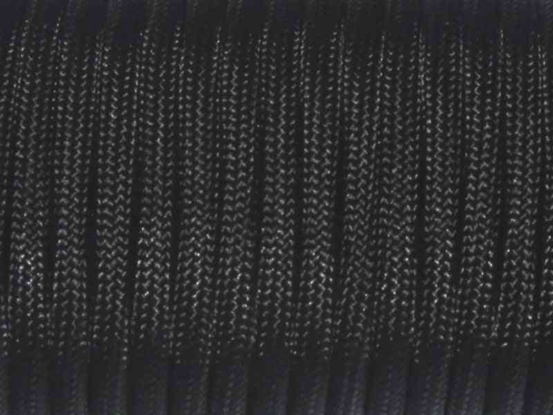 50 Meter, 2mm 1 Stand Cores Paracord For Survival Parachute Cord Rope Hiking Clothesline