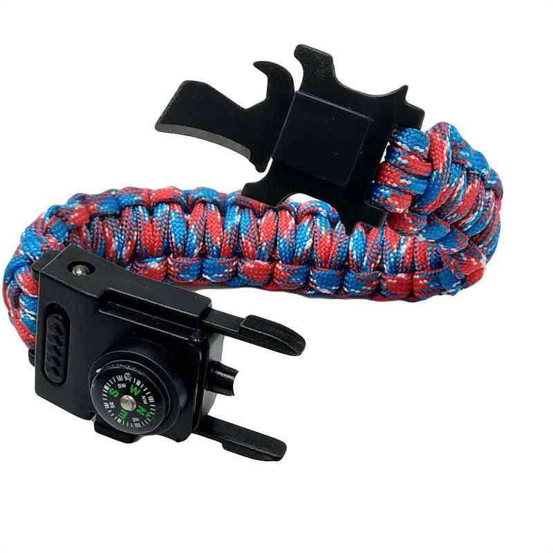 Survival Paracord Led Bracelet