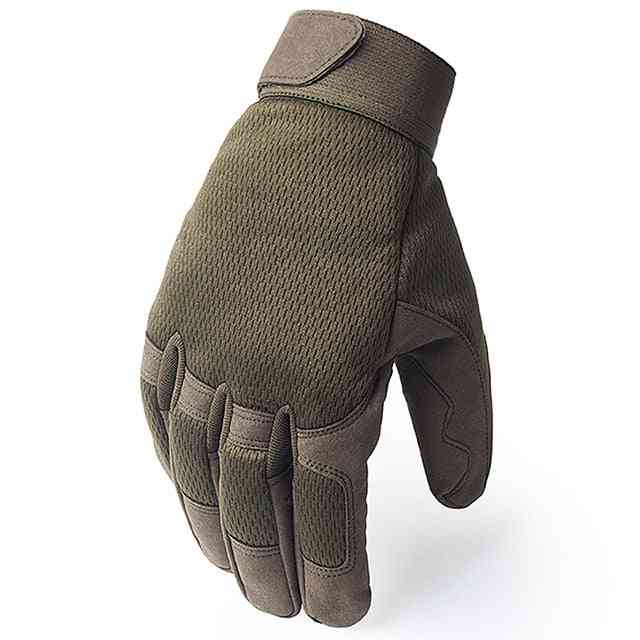 Outdoor Tactical Gloves, Army Military Airsoft Shooting Full Finger Glove