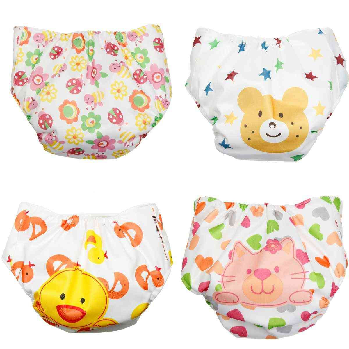 Reusable Washable Baby Printed Nappy Pocket Cloth Diaper