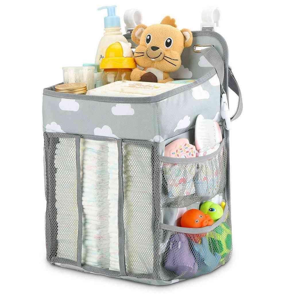 Newborn Bed Storage Organizer Crib Hanging Essentials