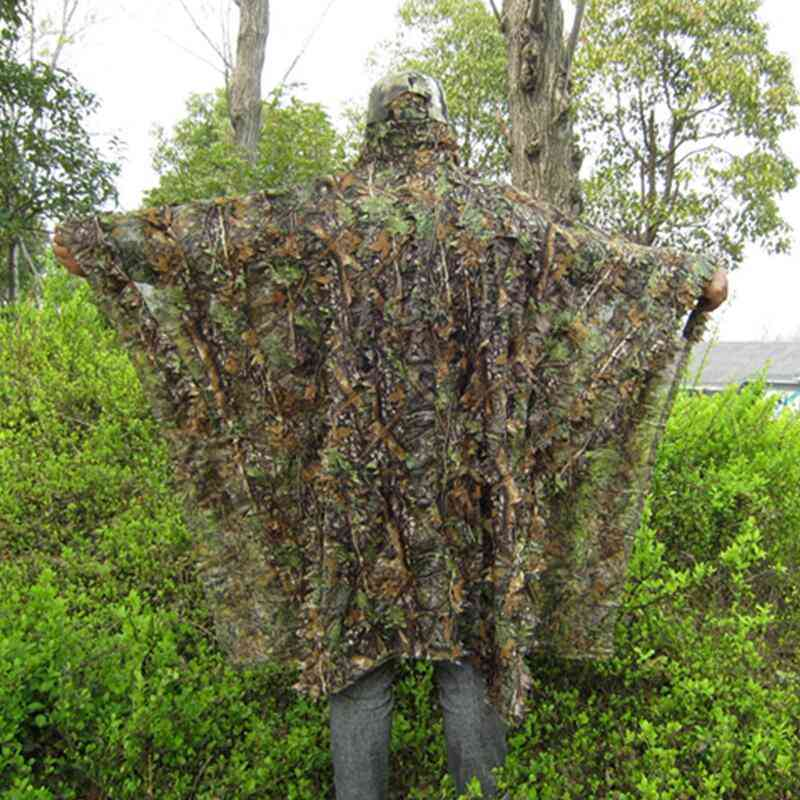 Cloak Dress Hunting Clothes, Sniper Birdwatch Airsoft Clothing Jacket