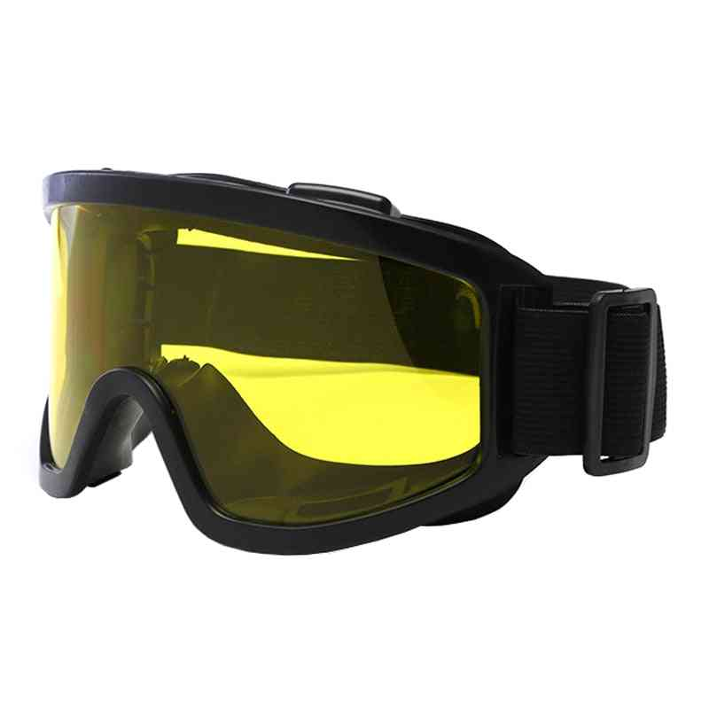 Explosion Proof Military Tactical Glasses, Outdoor Shockproof Airsoft Shooting Goggles