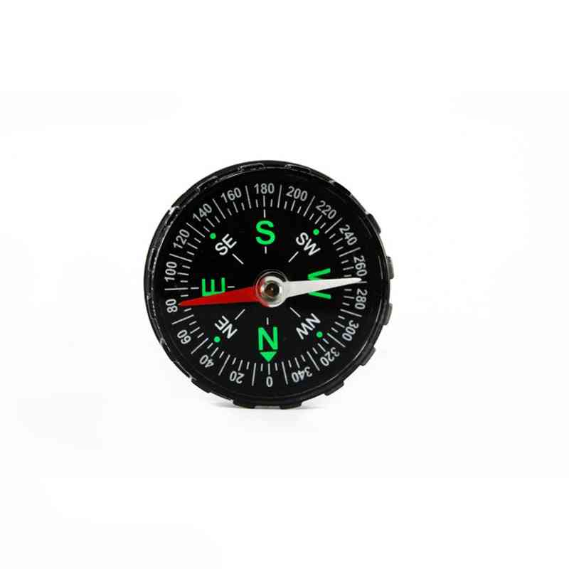 Hunting & Camping Travel Car Handheld Pointing Guide Compass With Liquid