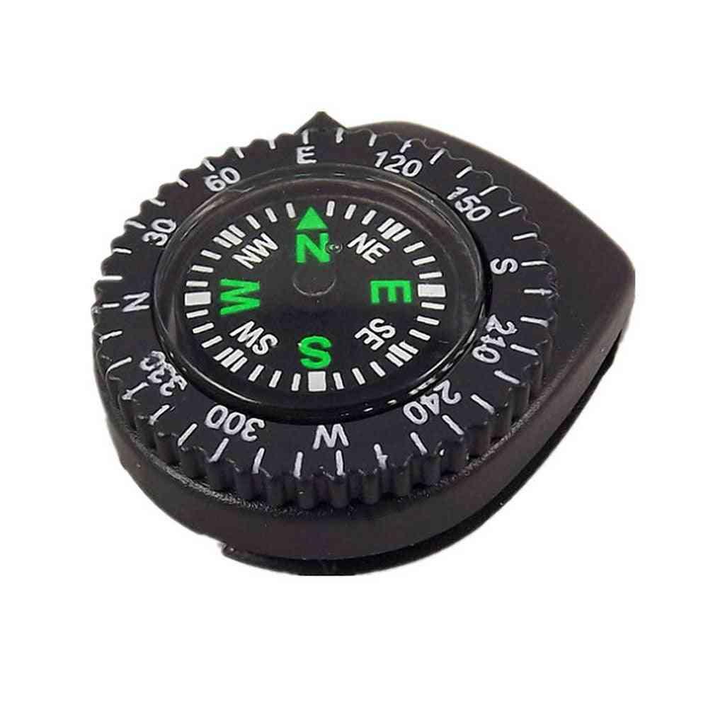 Mini Portable Detachable Wristband Compass -navigation Tool