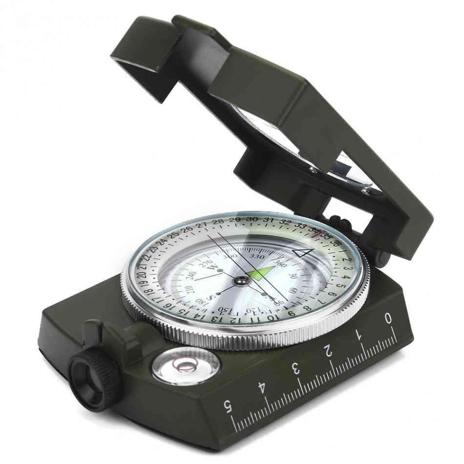 Waterproof Lensatic Survival Compass