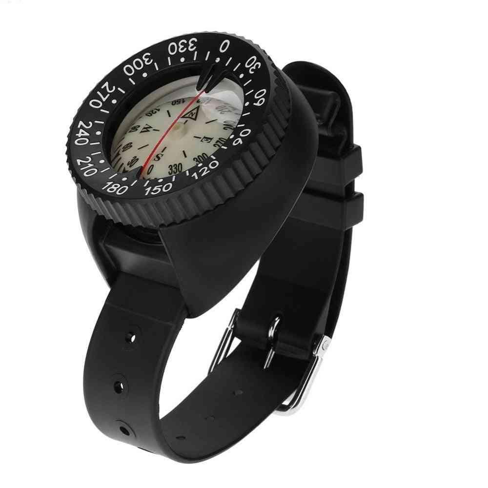 Waterproof Wristwatch Design Compass