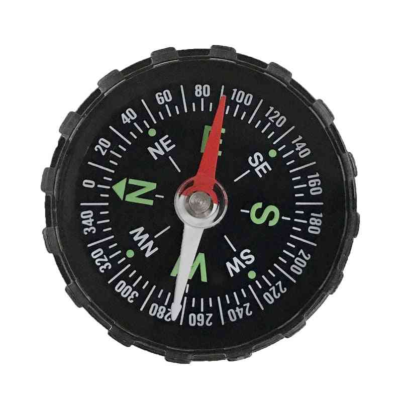 Portable Mini Precise Compass, Practical Guider For Camping & Hiking-compass