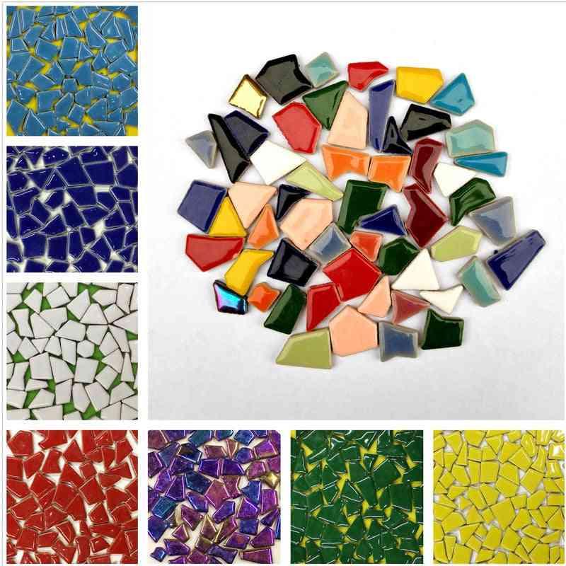 Regular Mosaic Making Creative Ceramic Tiles For Diy Wall Crafts/handmade Decorative