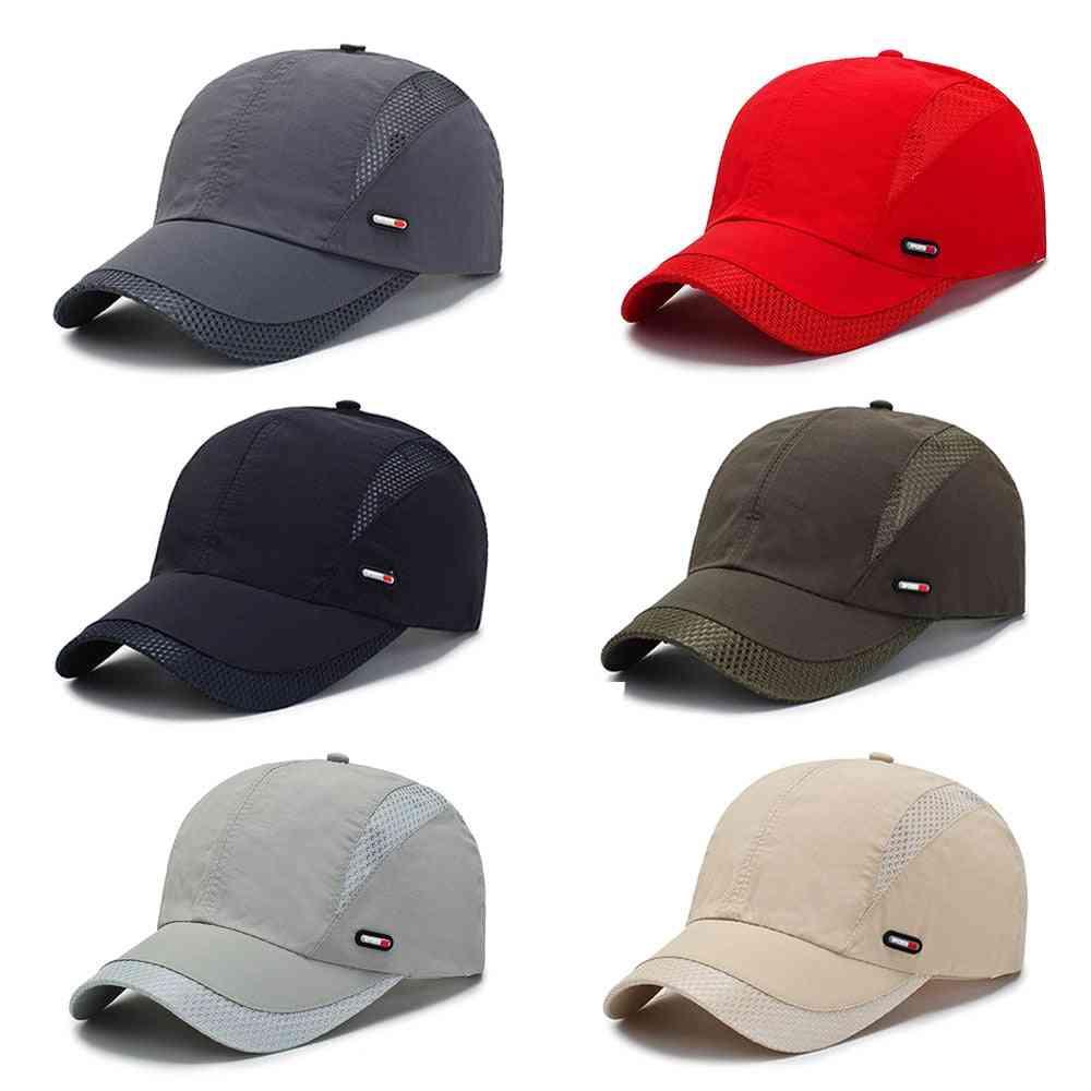 Men & Women Summer Baseball Caps, Outdoor Sport Sun Hat