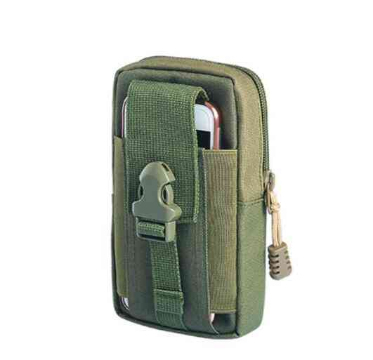 Mini Outdoor Camping Bags, Waterproof Nylon Military Tactical Molle Pouch Waist Bag