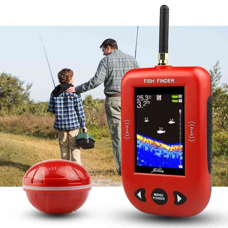 Portable Wireless Fish Finder Device