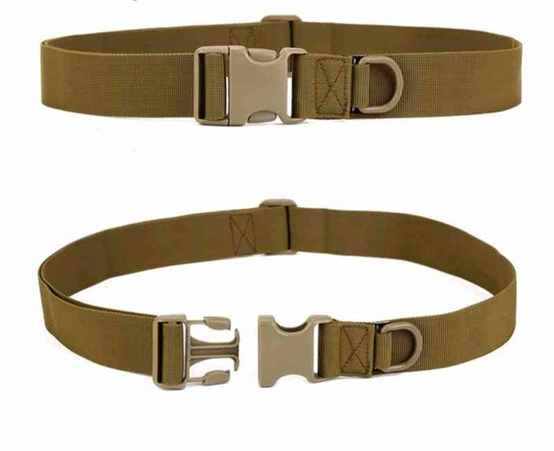 Adjustable Sports Tactical Belt With Quick Release Buckle