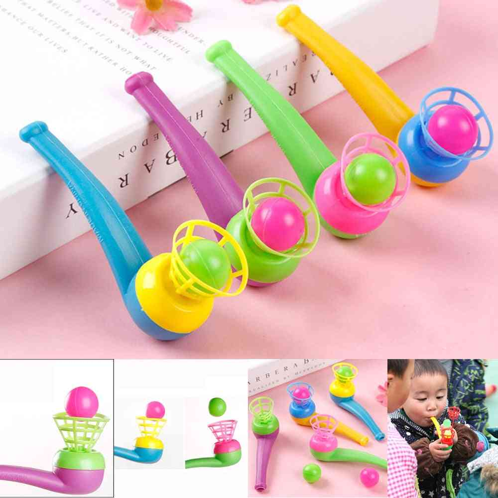 Suspended Pipe Blow Ball Rod Board Game Toy