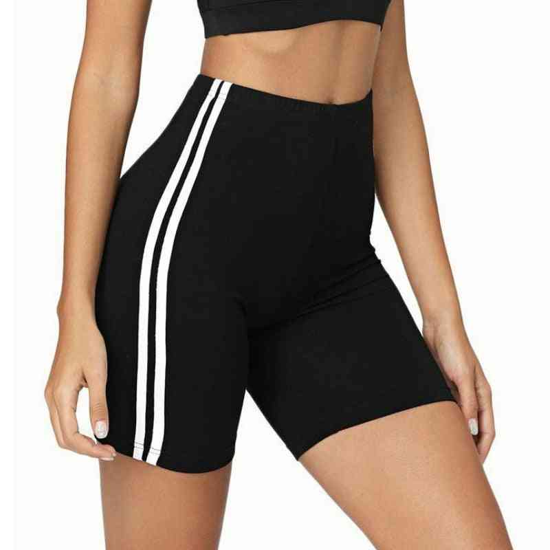 Women Three-point Leggings Quick Dry Cycling Biker Safety Shorts