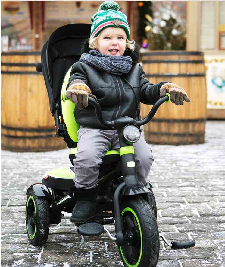 Children's Tricycle With -travel Trailer