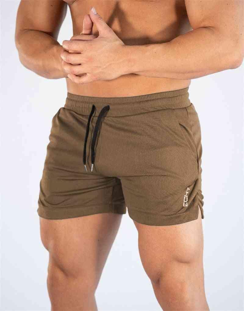 Mens Gym Training Shorts, Sports Clothing Fitness Workout Running Short Pant