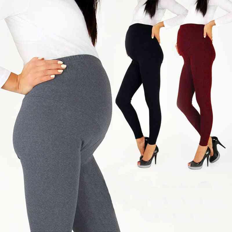 Women Maternity Adjustable High Waist Leggings