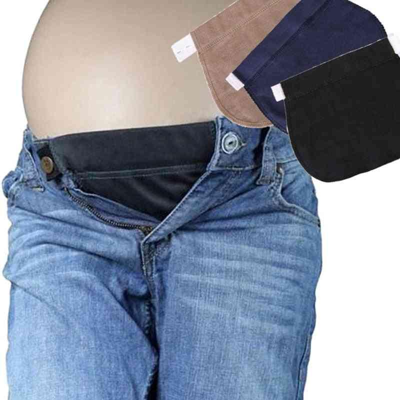 Pregnant Maternity Pants Belt Elsatic Waist Extending Button Comfortable Clothes