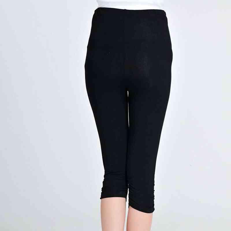 Maternity Leggings Modal High Waist Pregnancy Belly Pants / Trousers