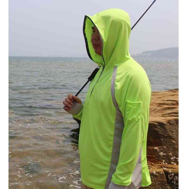 Quick Dry, Breathable And Anti Uv Pullover For Hiking/climbing