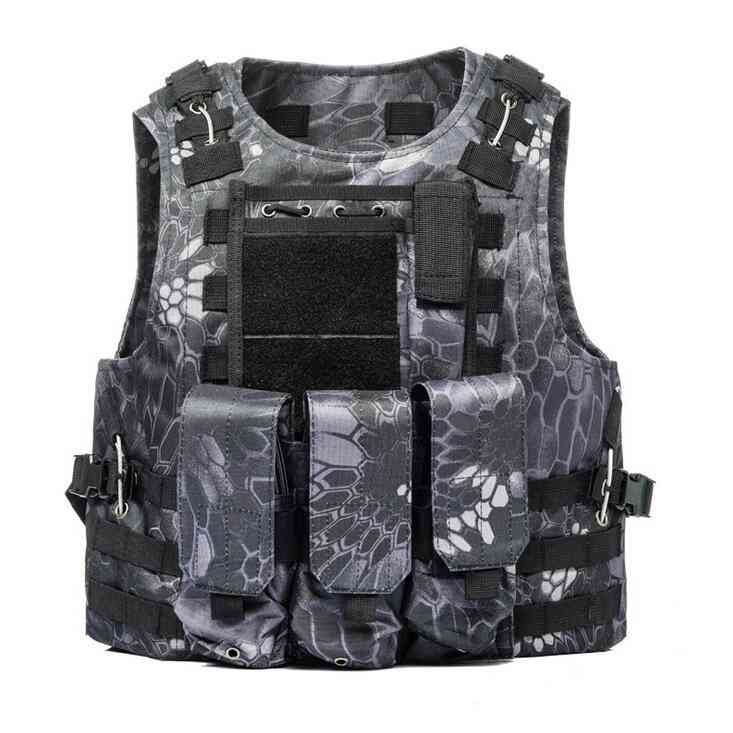 Airsoft Military Tactical Molle Design Waistcoat