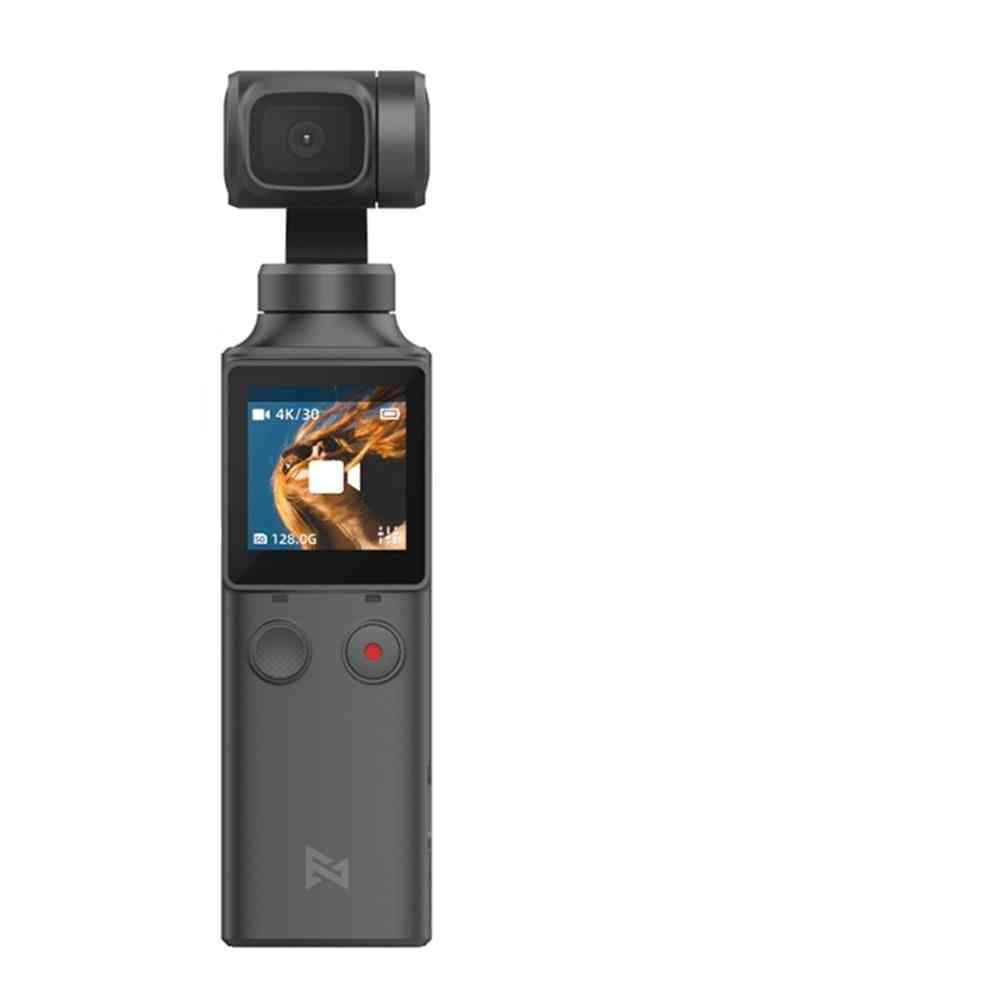 3-axis Handheld Gimbal Camera Stabilizer -128 Degree Wide Angle 4k