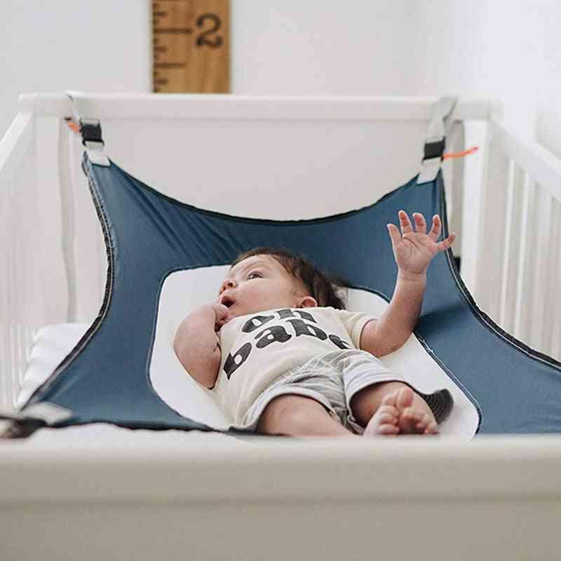 Safe Detachable Baby Cot Crib Swing Elastic Hammock Adjustable Net Portable Infant Sleeping Bed
