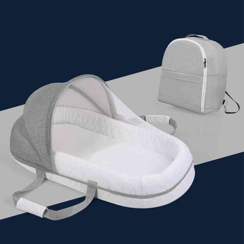 Breathable Portable Sleeping Baby Bed Crib For Multi-function Travel Mosquito Nes