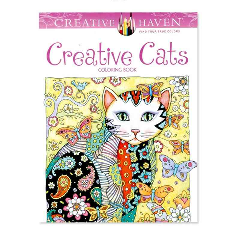Creative Cats Coloring Books