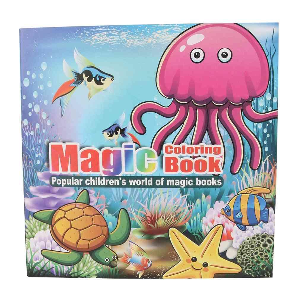 Children's Puzzle Magic Coloring Book