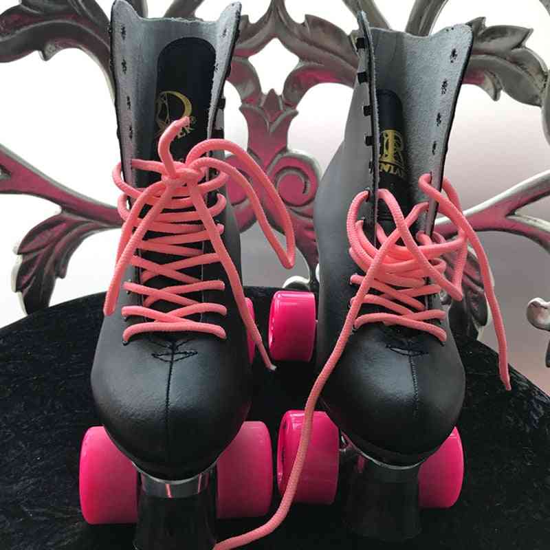 Waterproof And Lace Up, Double Row Roller Skates