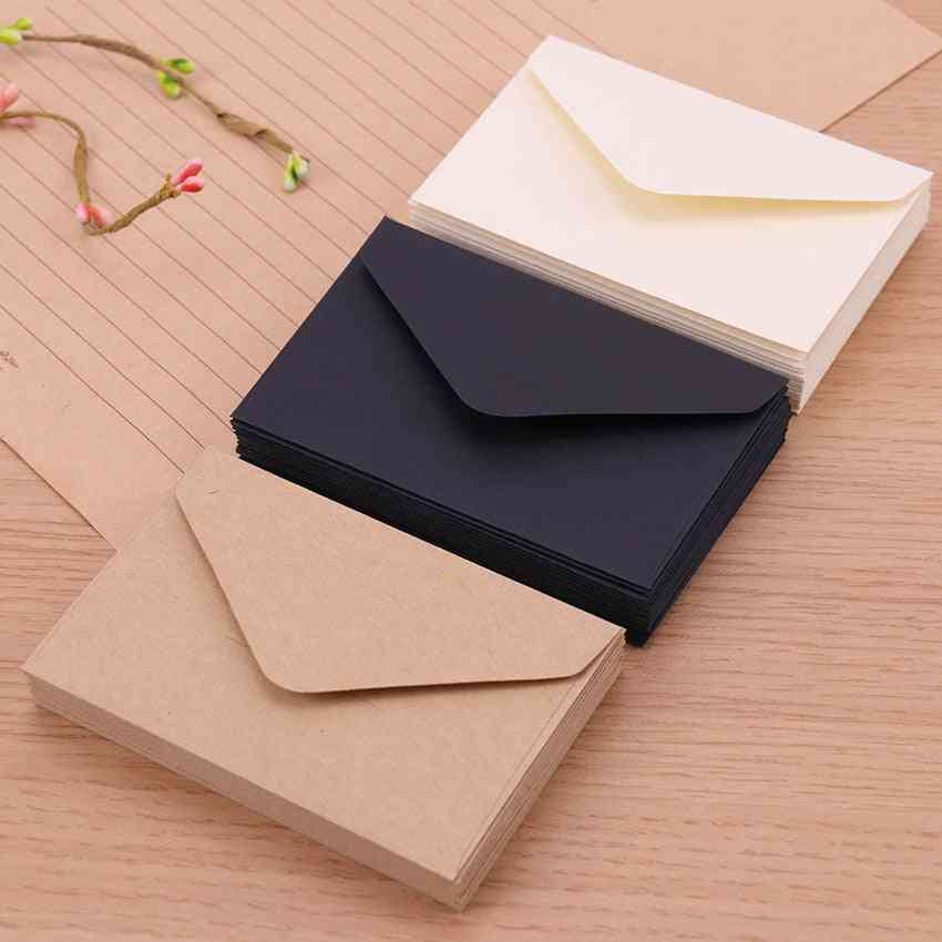 Blank Mini Paper, Window Envelopes For Wedding Invitation, Envelope