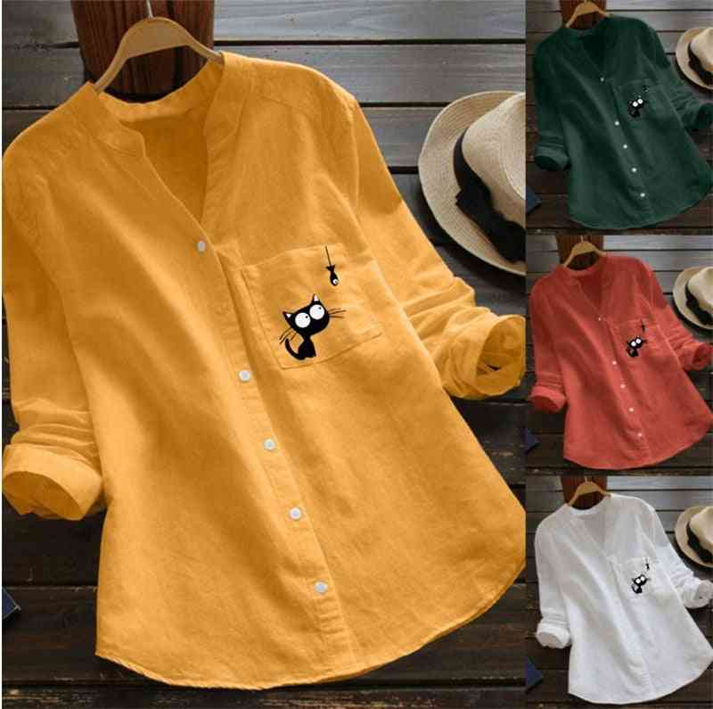 Maternity Blouses Long Sleeve V-neck Tops / Shirts For Pregnant Women Clothes